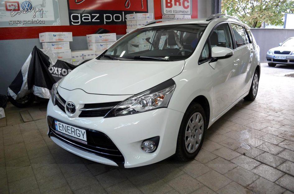 Toyota Verso 1.8 2016r LPG