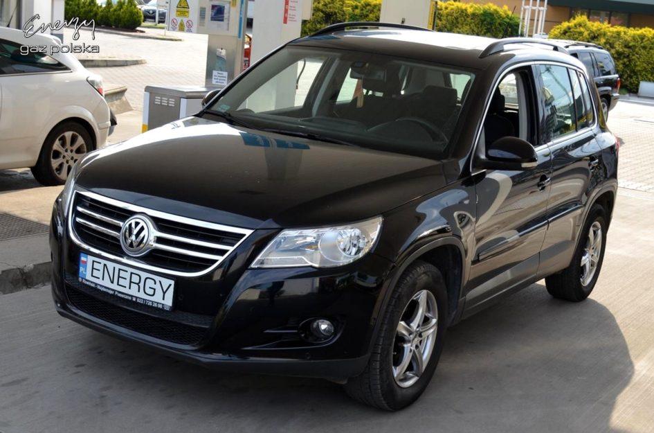 Volkswagen Tiguan 1.4 2007r LPG