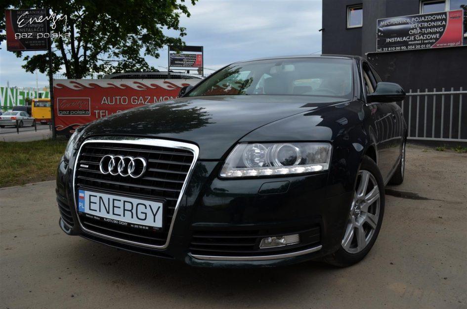 Audi A6 3.0 TFSI 2009r LPG