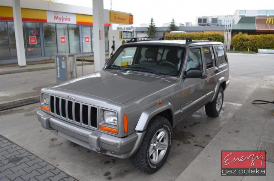 Jeep Cherokee 4.0 180KM 2001r LPG