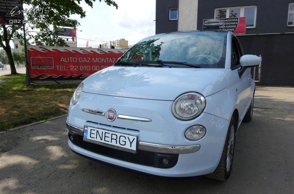 Fiat 500 1.2 2008r LPG