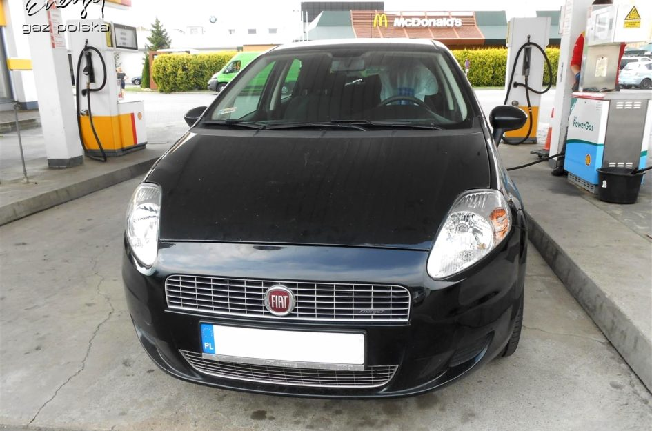 Fiat Grande Punto 1.4 2009r LPG