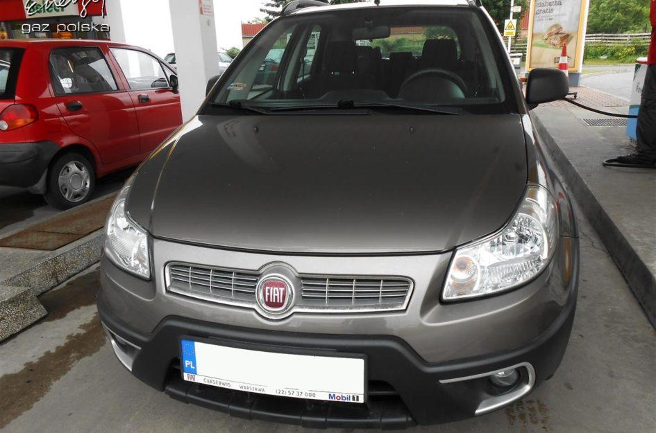 Fiat Sedici 1.6 2009r LPG