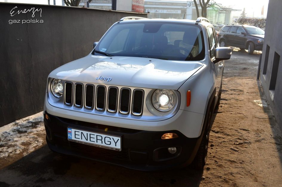Jeep Renegade 1.4 2015r LPG