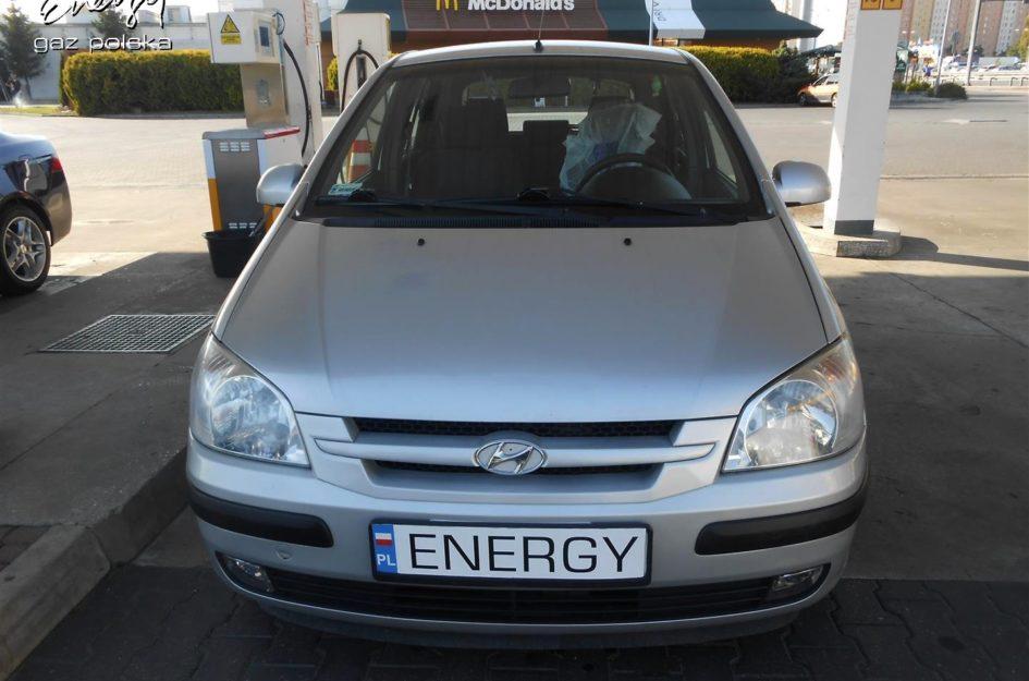 Hyundai Getz 1.6 2002r LPG