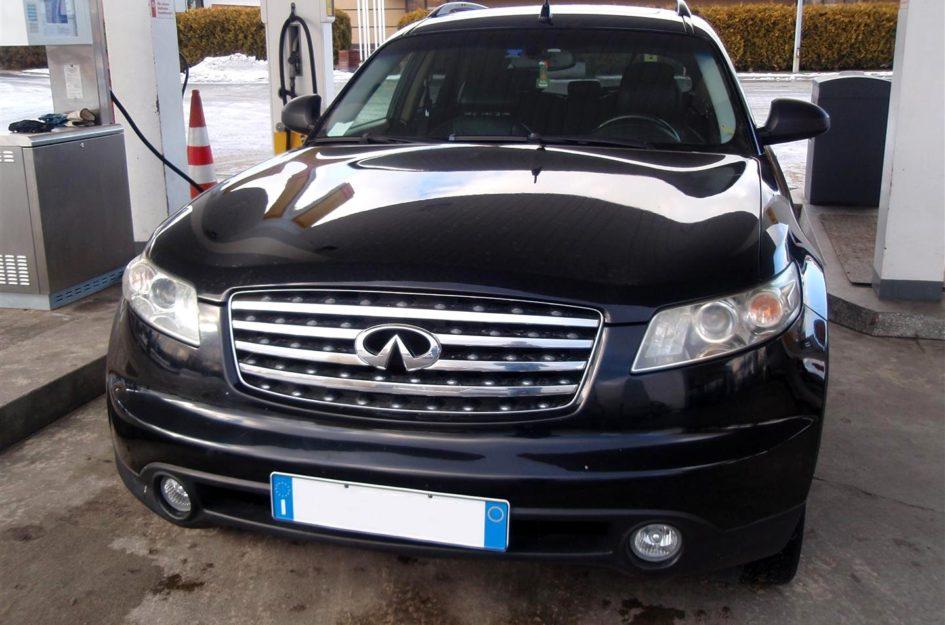 Infiniti FX 35 3.5 V6 2005r LPG
