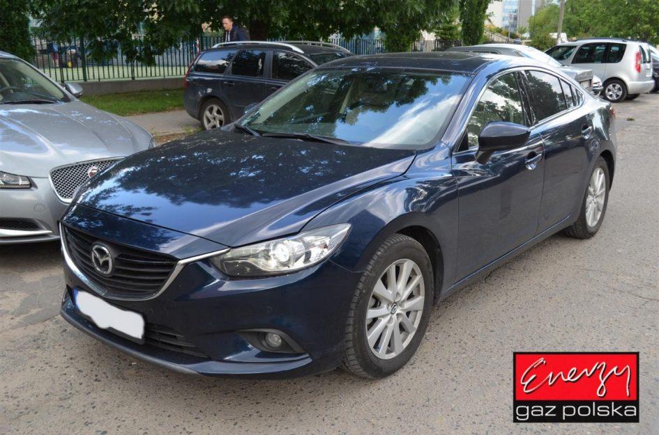 Mazda 6 2.5 192KM 2015r LPG