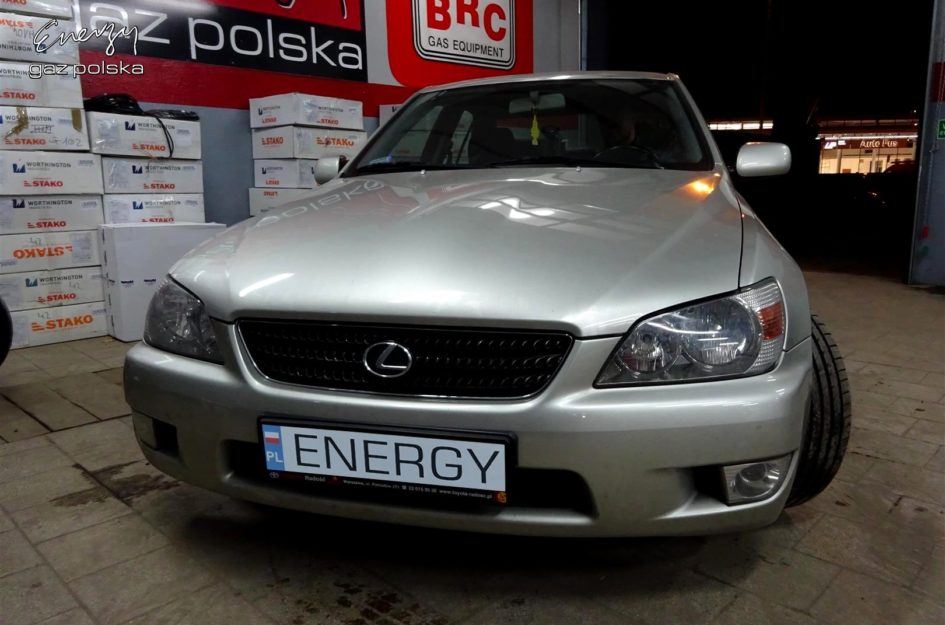 Lexus IS200 2.0 2002r LPG