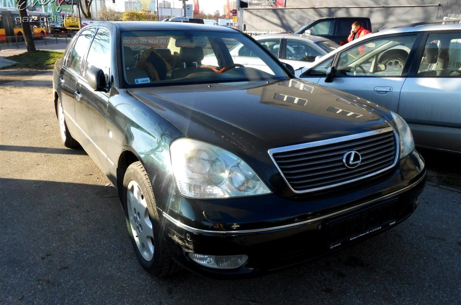 Lexus LS 430 4.3 V8 2001r LPG