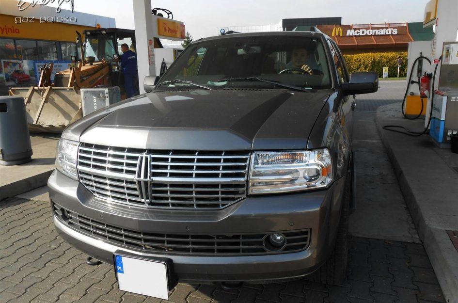 Lincoln Navigator 5.4 V8 2008r LPG