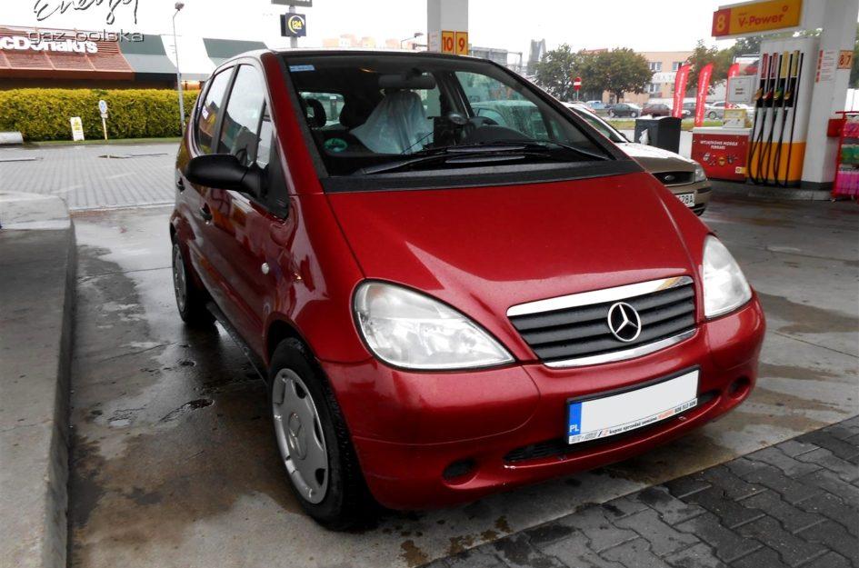 Mercedes A Klasa 1.6 2008r LPG