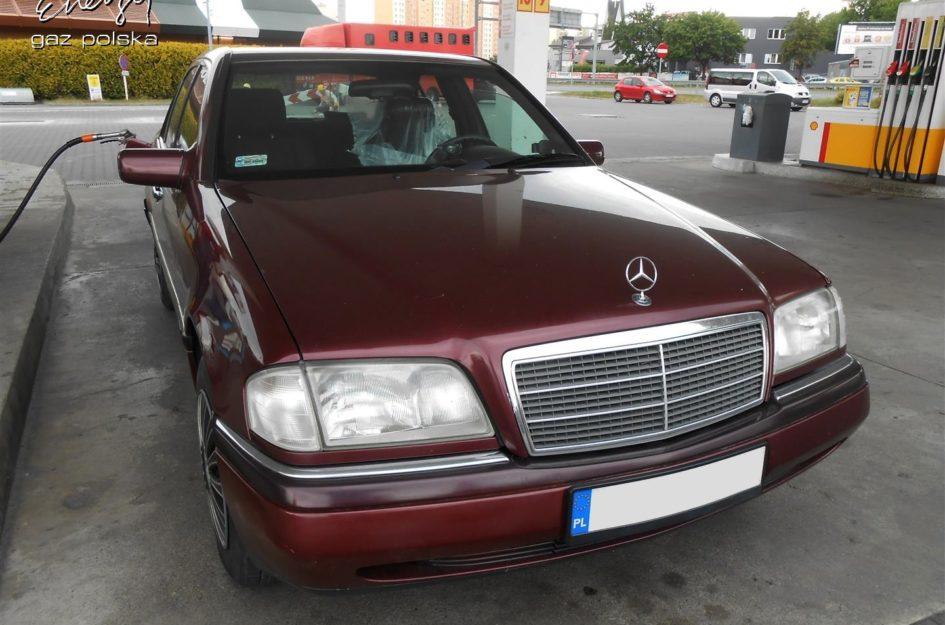 Mercedes C Klasa 1.8 1996r LPG