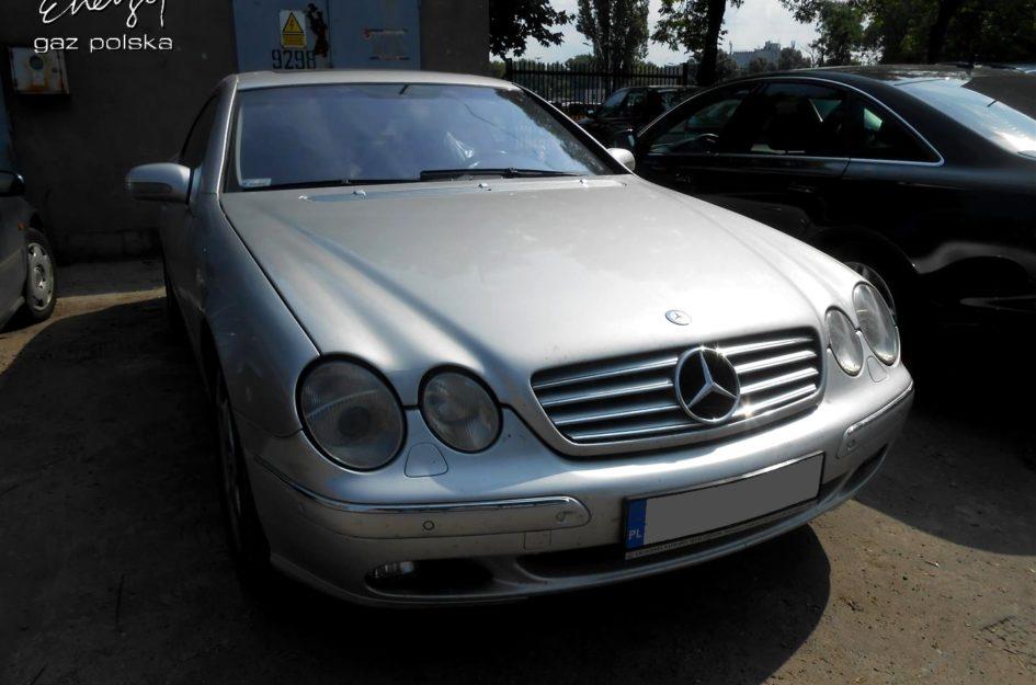 Mercedes CL500 5.0 V8 2000r LPG