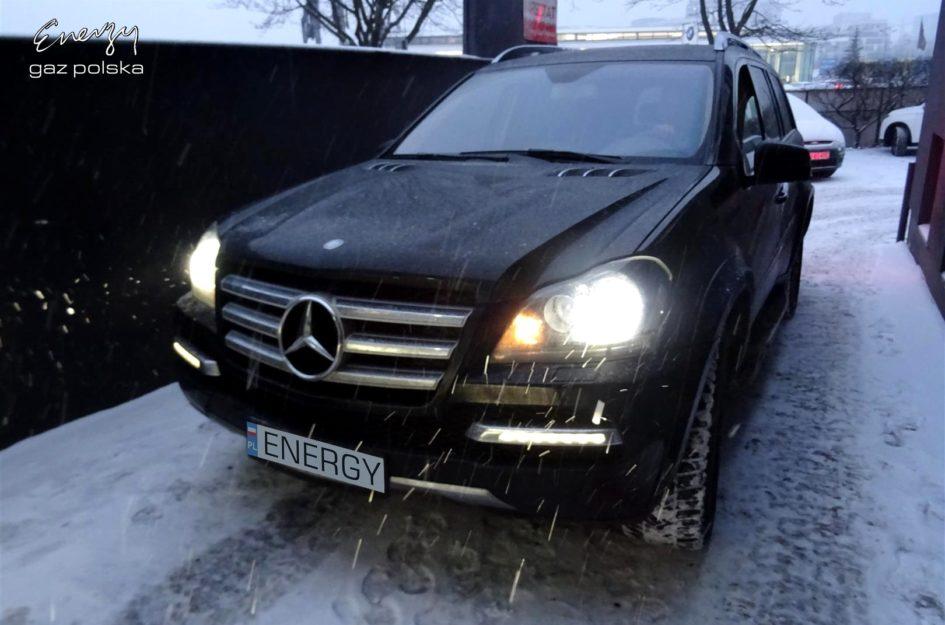 Mercedes GL550 5.5 V8 2011r LPG