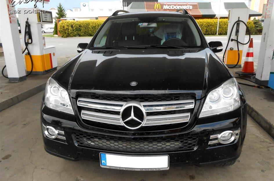 Mercedes GL 4.7 V8 2008r LPG