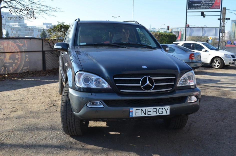 Mercedes ML 320 3.2 1999r LPG