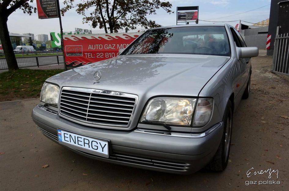 Mercedes S600 6.0 V12 1994r LPG