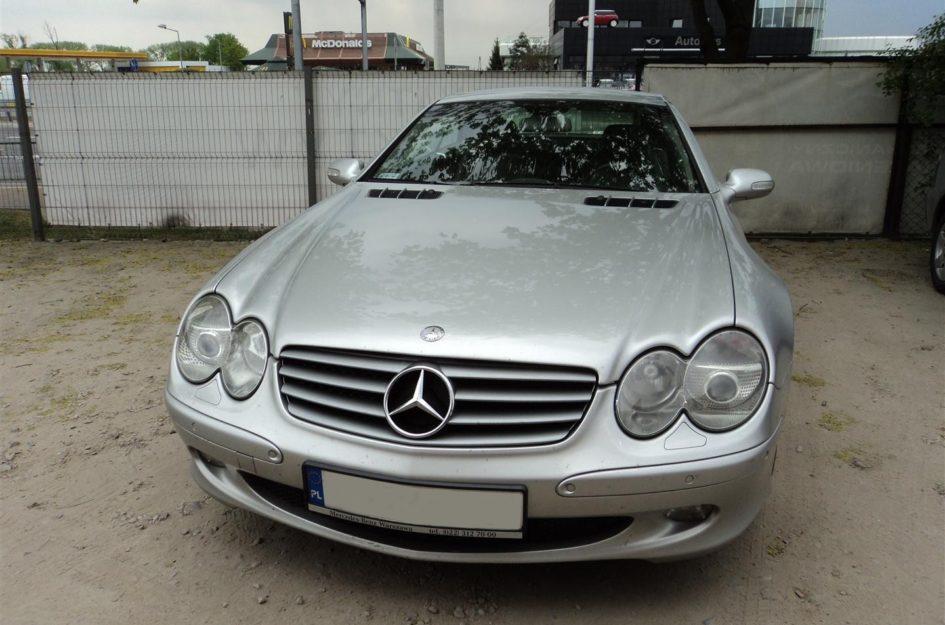 Mercedes SL500 5.0 V8 2004r LPG