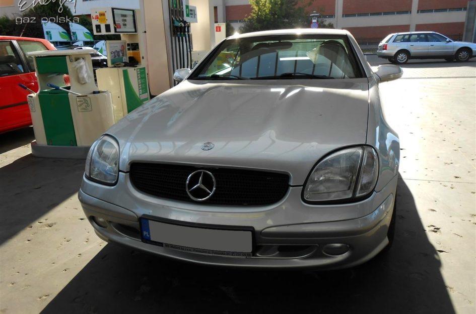 Mercedes SLK 230 2.3 2004r LPG