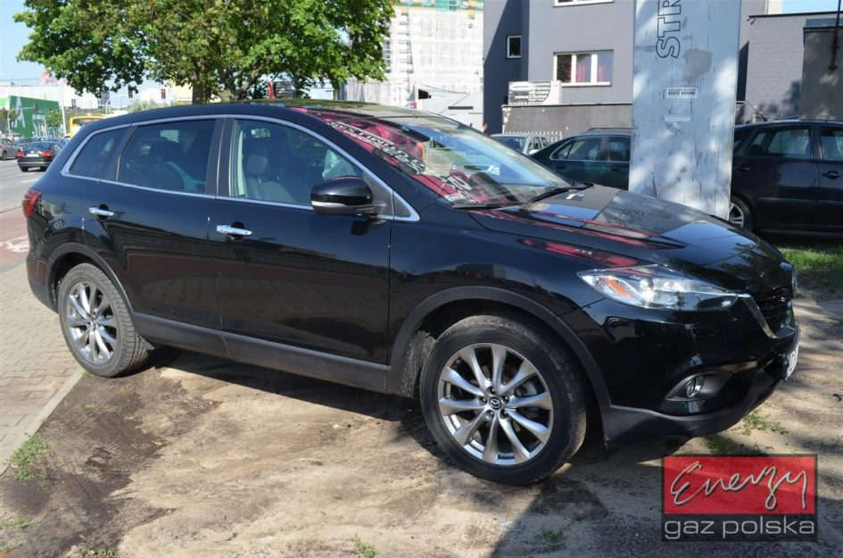Mazda CX-9 3.7 277KM 2014r LPG