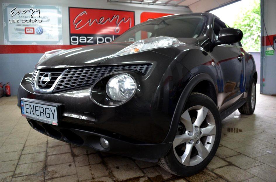 Nissan Juke 1.6 2011r LPG