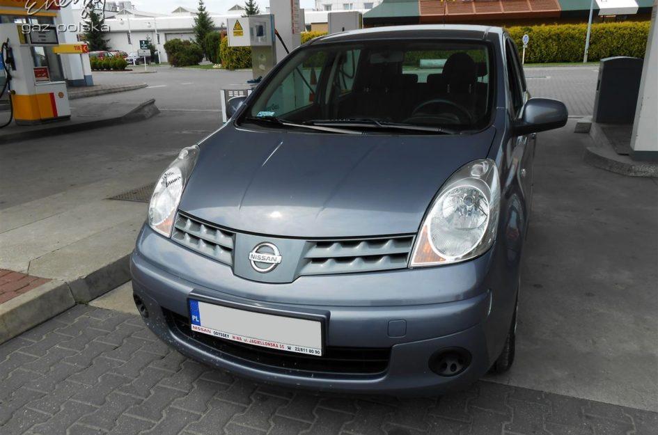 Nissan Note 1.4 2007r LPG