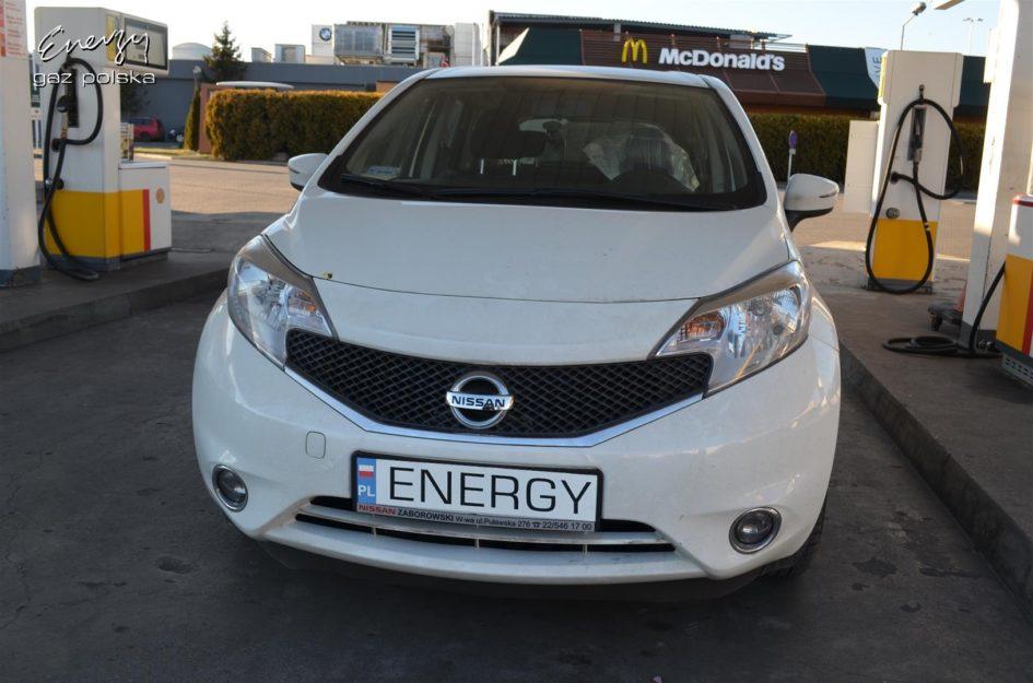 Nissan Note 1.2 2014r LPG