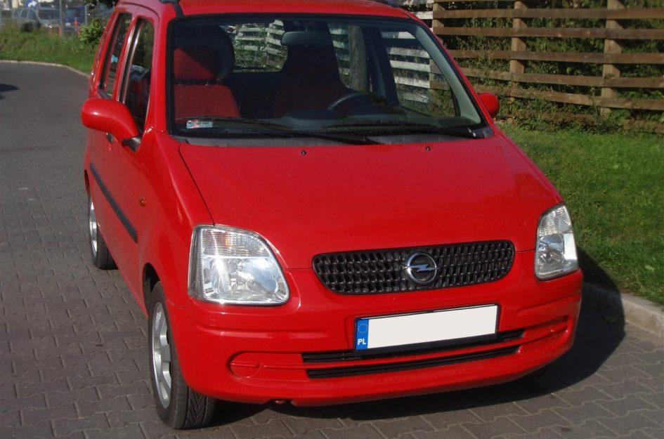Opel Agila 1.2 2002r LPG