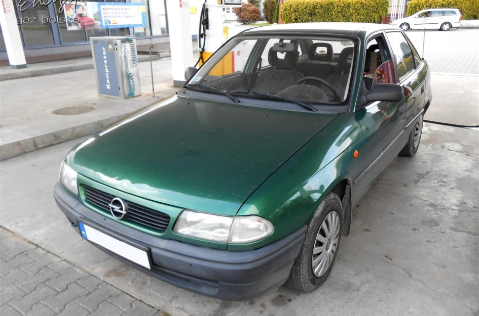 Opel Astra 1.4 1998r LPG