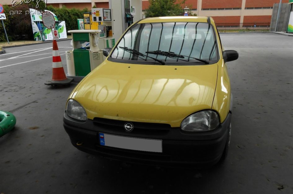Opel Corsa 1.2 1997r LPG