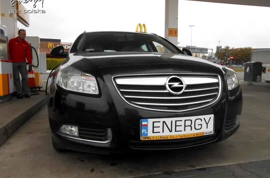 Opel Insignia 1.8 2009r LPG