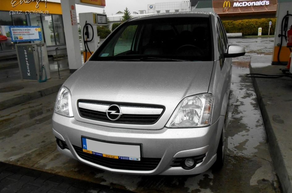 Opel Meriva 1.6 2008r LPG