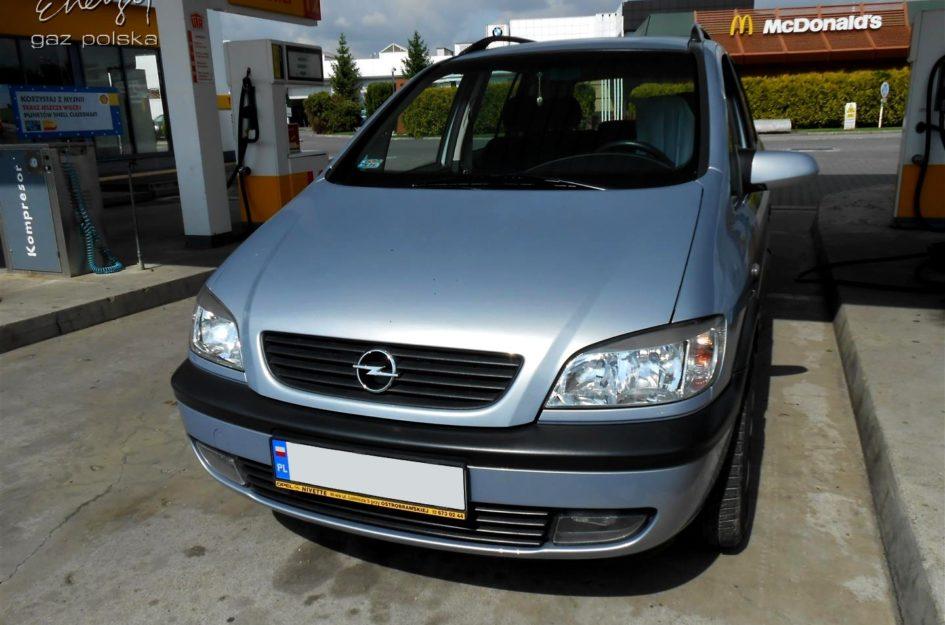 Opel Zafira 1.6 2000r LPG