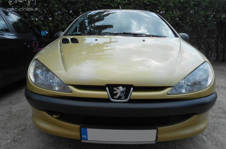 Peugeot 206 1.4 2005r LPG