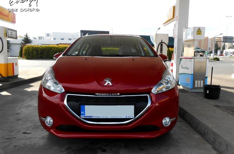 Peugeot 208 1.2 2014r LPG