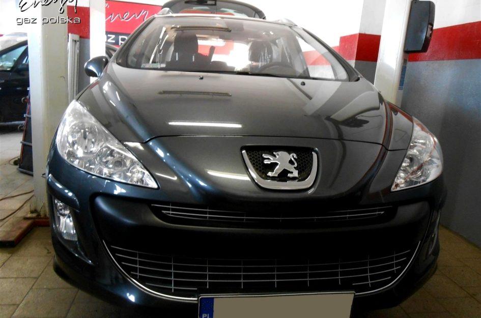 Peugeot 308 1.6 2009r LPG