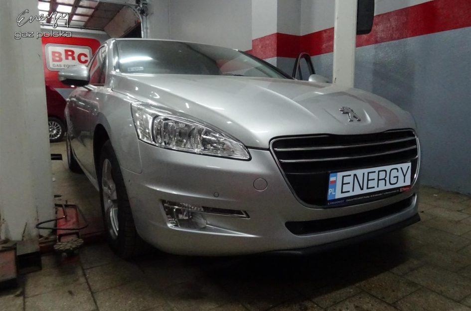 Peugeot 508 1.6 THP 2014r LPG