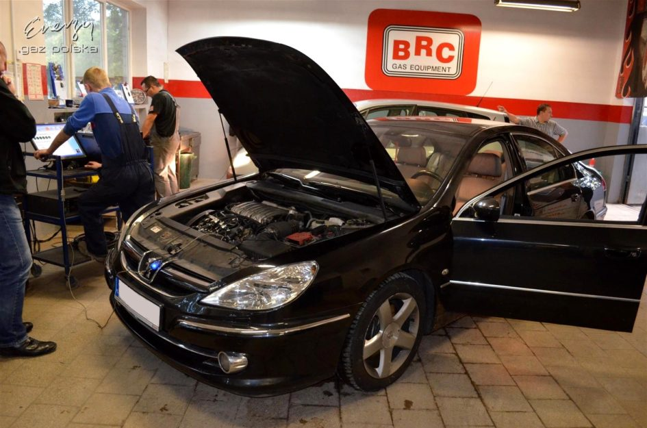 Peugeot 607 3.0 2005r LPG