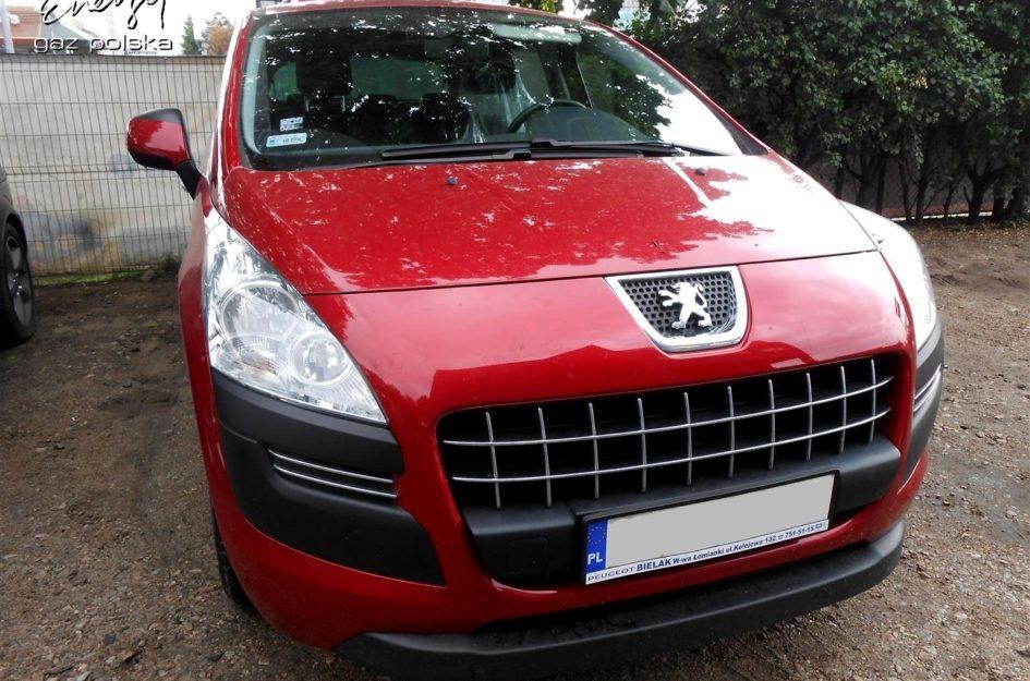 Peugeot 3008 1.6 2009r LPG