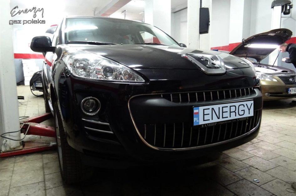 Peugeot 4007 2.4 2011r LPG