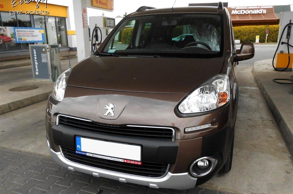 Peugeot Partner 1.6 2013r LPG