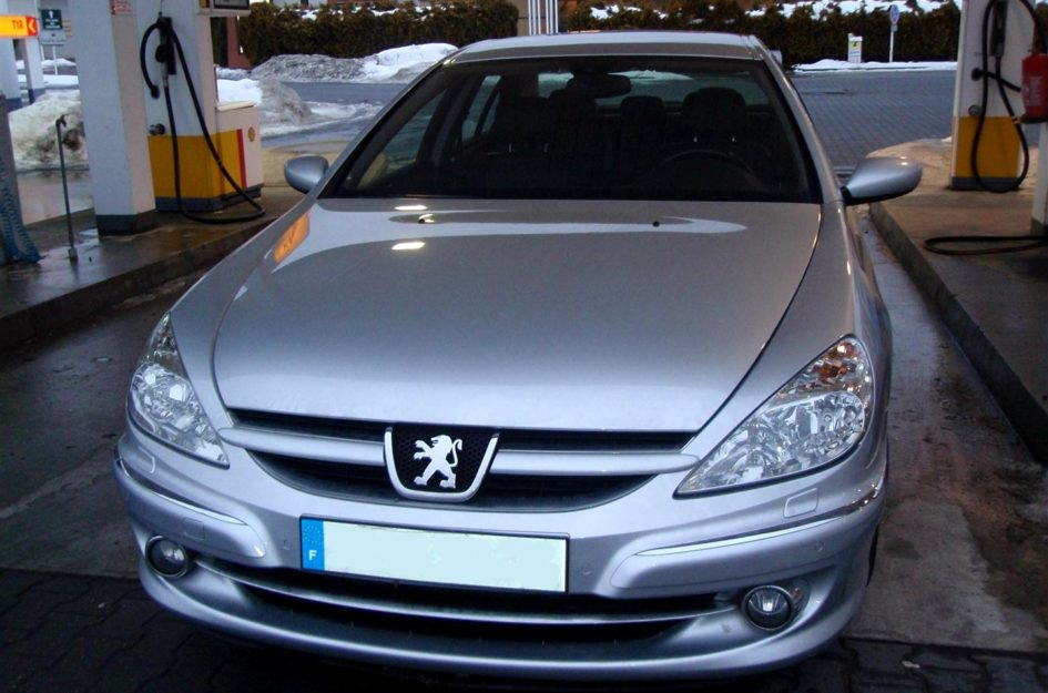 Peugeot 607 3.0 2006r LPG