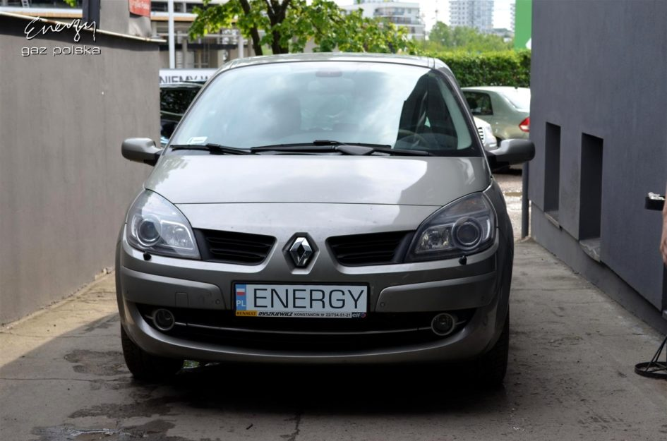 Renault Grand Scenic 2.0T 2006r LPG