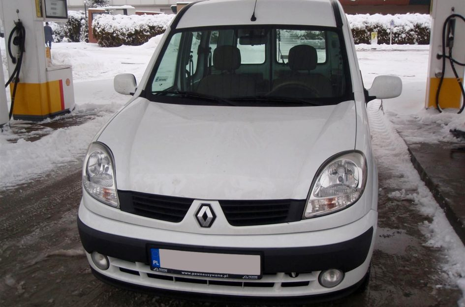Renault Kangoo 1.6 2007r LPG