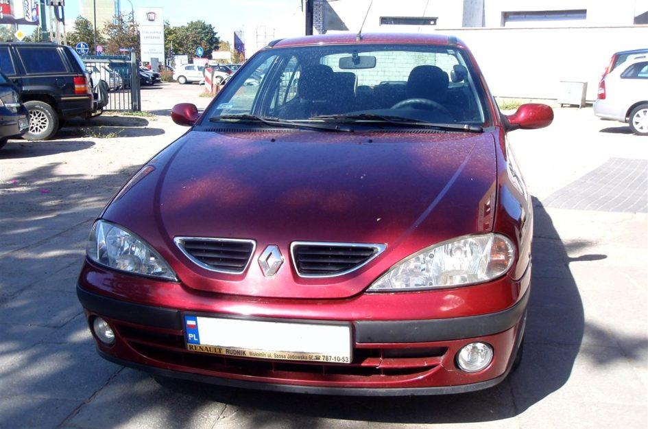 Renault Megane 1.4 2002r LPG