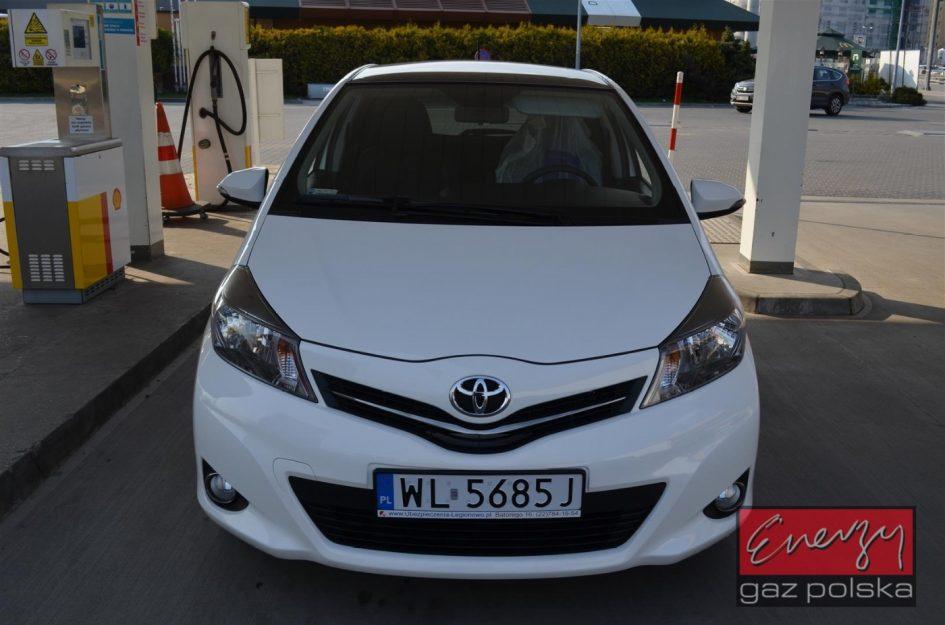 Toyota Yaris 1.3 2011r LPG