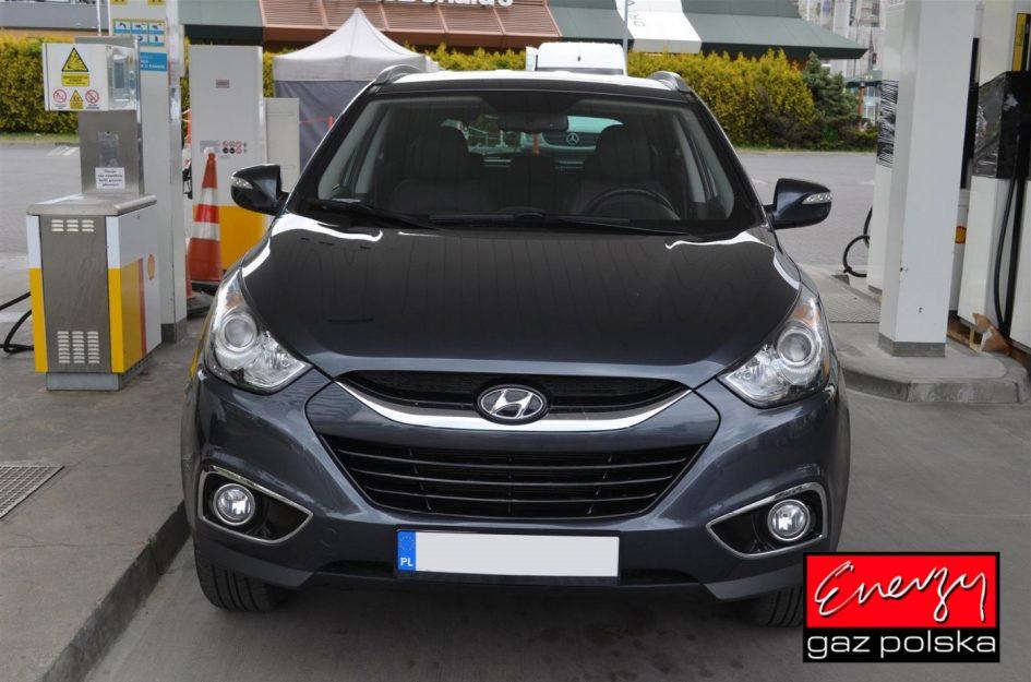 Hyundai IX35 2.0 166KM 2010r LPG