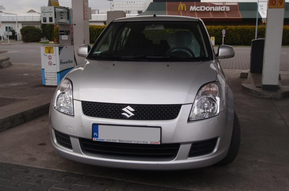 Suzuki Swift 1.3 2009r LPG
