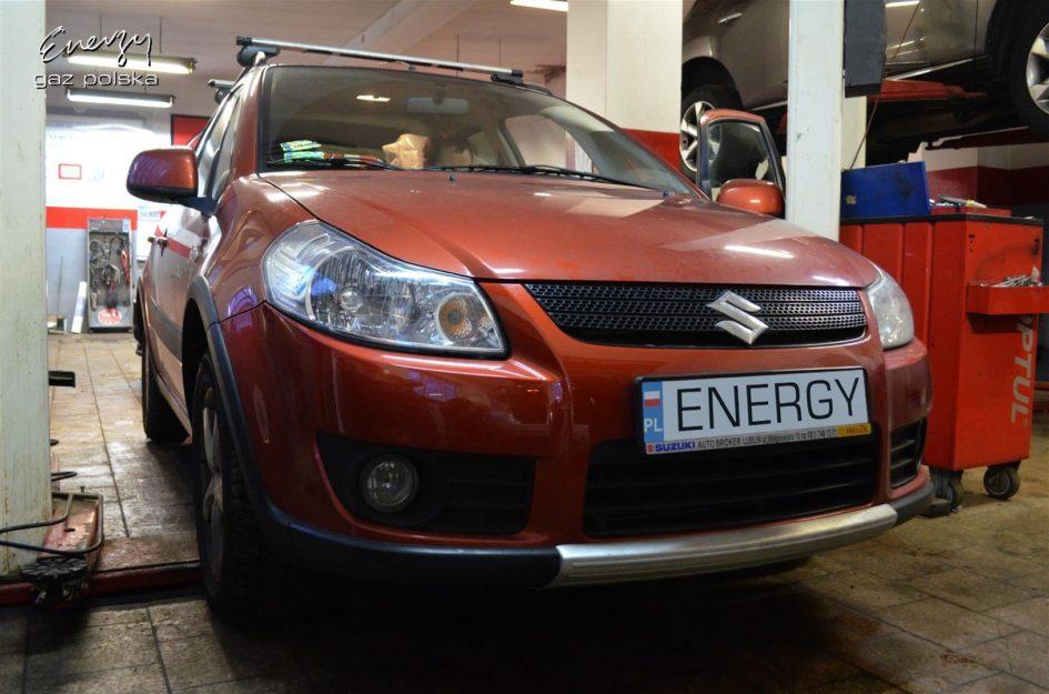 Suzuki SX4 1.6 2008r LPG