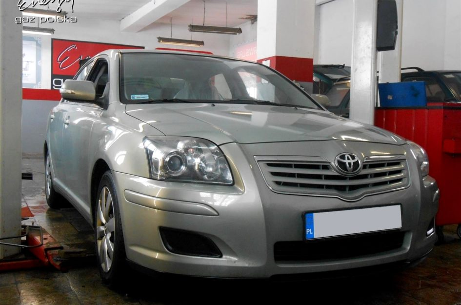 Toyota Avensis 1.6 2007r LPG